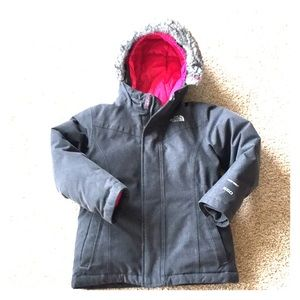 North Face girls jacket
